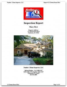 Standard Home Inspection Report Sample