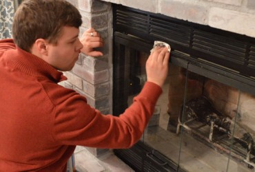 Clean your Fireplace and Safely Store Firewood